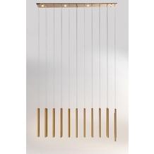 Kare Design Hängeleuchte Living Vegas Copper LED