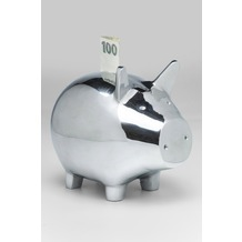 Kare Design Spardose Piggy Alu Groß