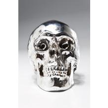 Kare Design Spardose Skull Chrome