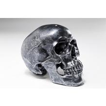 Kare Design Spardose Skull Silver Antique