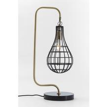 Kare Design Tischleuchte Golden Cage Drop