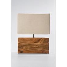 Kare Design Tischleuchte Rectangular Wood Nature