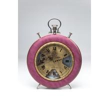 Kare Design Tischuhr Velvet Pink Time
