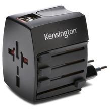 Kensington AbsolutePower Dual USB internationales Reiseladegerät