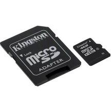 Kingston microSDHC Speicherkarte, Class4, 4GB
