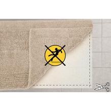 Kleine Wolke Badteppich Anti-Rutsch Teppichunterlage (Größe individuell zuschneidbar, max. 70x120 cm) 70 cm x 120 cm