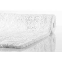 Kleine Wolke Badteppich Arizona Schneeweiss 47 cm x 50 cm Deckelbezug