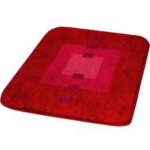 Kleine Wolke Badteppich Maison Granat 50 cm x 65 cm
