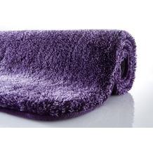 Kleine Wolke Badteppich Relax Aubergine 47 cm x 50 cm Deckelbezug