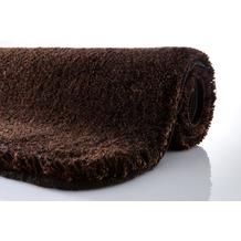 Kleine Wolke Badteppich Relax Nussbraun 47 cm x 50 cm Deckelbezug