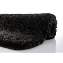 Kleine Wolke Badteppich Relax Schwarz 47 cm x 50 cm Deckelbezug