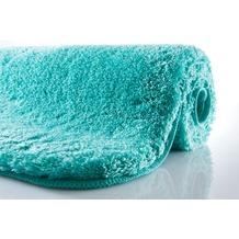 Kleine Wolke Badteppich Relax Türkis 47 cm x 50 cm Deckelbezug