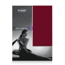 Kneer Easy Stretch Spannbetttuch, karmin, 90/190 - 100/220 cm