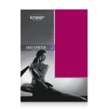 Kneer Easy Stretch Spannbetttuch, pink, 90/190 - 100/220 cm