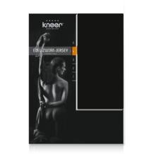 Kneer Edel-Zwirn-Jersey Spannbetttuch, schwarz, 90/190 - 100/200 cm