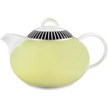 Königlich Tettau Teekanne 6 Personen Jade Swing Gelb 04077