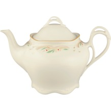 Königlich Tettau Teekanne 6 Personen Rubin cream 4143