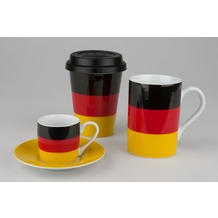 Könitz 3er Set Flaggen Deutschland