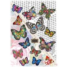 Komar Deco-Sticker Melli Mello Butterflies 70 x 50 cm