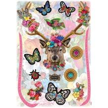 Komar Deco-Sticker Melli Mello Deer 70 x 50 cm