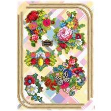 Komar Deco-Sticker Melli Mello Flowers 70 x 50 cm