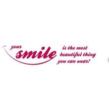 Komar Deco-Sticker Your Smile 70 x 14 cm