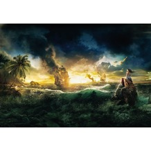 Komar Fototapete Disney Pirates of the Caribbean 184 x 127 cm