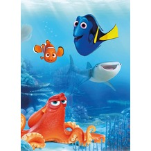 "Komar Fototapete ""Dory and Friends"" 184 x 254 cm"