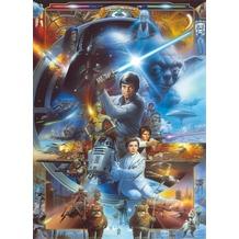 Komar Fototapete Star Wars Luke Skywalker Collage