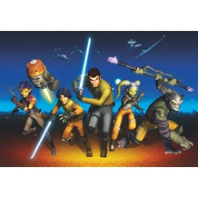 Komar Fototapete Star Wars Rebels Run