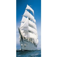 Komar Fototapete Sailing Boat 86 x 220 cm