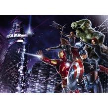 Komar Fototapete Marvel Avengers Citynight 254 x 184 cm