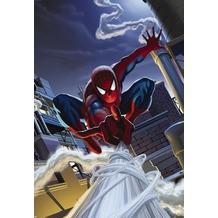 Komar Fototapete Marvel Spiderman Rooftop 127 x 184 cm