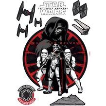 Komar Wandtattoo Star Wars Frist Order