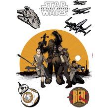 Komar Wandtattoo Star Wars Resistance