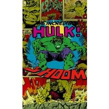 "Komar Vlies Panel ""Marvel Comics The Incredible Hulk Shoom"" 120 x 200 cm"