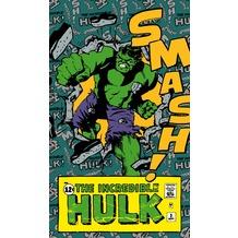 """Komar Vlies Panel """"Marvel Comics The Incredible Hulk Smash"""" 120 x 200 cm"""