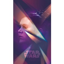 "Komar Vlies Panel ""Star Wars Female Leia"" 120 x 200 cm"