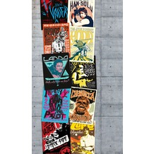 "Komar Vlies Panel ""Star Wars Rock On Wall"" 120 x 200 cm"