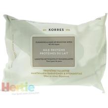 Korres Cleansing & Make-Up Removing Wipes 25 stuk