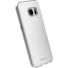 Krusell Kivik Cover für Samsung Galaxy S7 edge, transparent