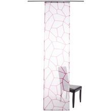 Lars Contzen Flächenvorhang Micro, pink (inkl. Technik) 60 x 245 cm