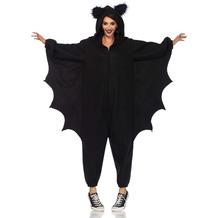 Leg Avenue Cozy Bat Onesie black one size