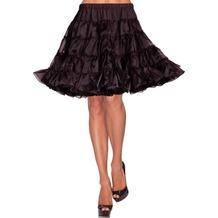 Leg Avenue Deluxe crinoline petticoat black one size