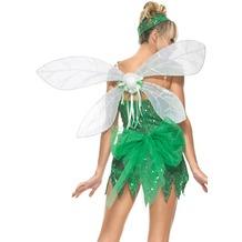Leg Avenue Iridescent Pixie Wings WHITE one size