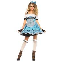 Leg Avenue Rebel Alice in Wonderland blue 40