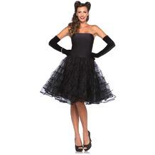 Leg Avenue Rockabilly swing dress black 38-40
