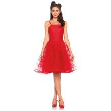 Leg Avenue Rockabilly swing dress red 38-40