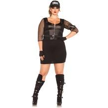 Leg Avenue SWAT Officer black 44-46