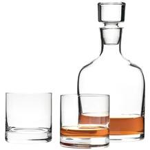 Leonardo Set 3 Whiskykaraffe und Becher Ambrogio